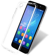 Housse Ultra Fine TPU Souple Transparente T03 pour Huawei Y6 Clair