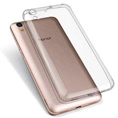 Housse Ultra Fine TPU Souple Transparente T03 pour Huawei Y6 II 5.5 Clair