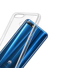 Housse Ultra Fine TPU Souple Transparente T03 pour Huawei Y7 (2018) Clair