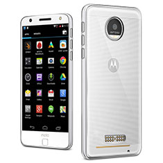 Housse Ultra Fine TPU Souple Transparente T03 pour Motorola Moto Z Play Clair