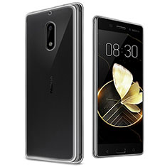 Housse Ultra Fine TPU Souple Transparente T03 pour Nokia 6 Clair