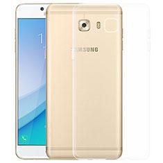 Housse Ultra Fine TPU Souple Transparente T03 pour Samsung Galaxy C7 Pro C7010 Clair