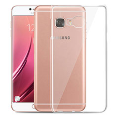 Housse Ultra Fine TPU Souple Transparente T03 pour Samsung Galaxy C7 SM-C7000 Clair