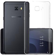 Housse Ultra Fine TPU Souple Transparente T03 pour Samsung Galaxy C9 Pro C9000 Clair