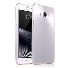 Housse Ultra Fine TPU Souple Transparente T03 pour Samsung Galaxy J3 Pro (2016) J3110 Clair