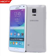 Housse Ultra Fine TPU Souple Transparente T03 pour Samsung Galaxy Note 4 Duos N9100 Dual SIM Clair