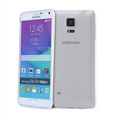 Housse Ultra Fine TPU Souple Transparente T03 pour Samsung Galaxy Note 4 SM-N910F Clair