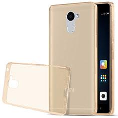 Housse Ultra Fine TPU Souple Transparente T03 pour Xiaomi Redmi 4 Standard Edition Or