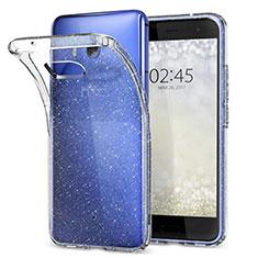 Housse Ultra Fine TPU Souple Transparente T04 pour HTC U11 Clair
