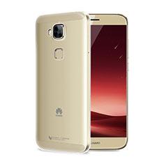 Housse Ultra Fine TPU Souple Transparente T04 pour Huawei G7 Plus Clair