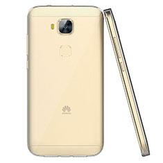 Housse Ultra Fine TPU Souple Transparente T04 pour Huawei G9 Plus Clair