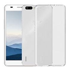 Housse Ultra Fine TPU Souple Transparente T04 pour Huawei Honor 6 Plus Clair