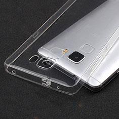 Housse Ultra Fine TPU Souple Transparente T04 pour Huawei Honor 7 Dual SIM Clair