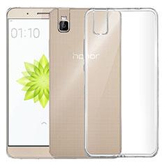 Housse Ultra Fine TPU Souple Transparente T04 pour Huawei Honor 7i shot X Clair