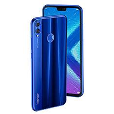 Housse Ultra Fine TPU Souple Transparente T04 pour Huawei Honor 8X Bleu