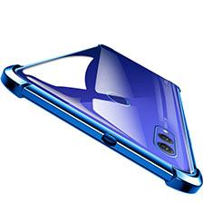 Housse Ultra Fine TPU Souple Transparente T04 pour Huawei Honor Note 10 Bleu