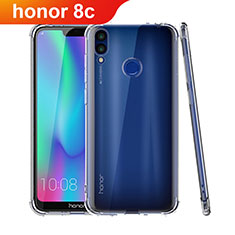 Housse Ultra Fine TPU Souple Transparente T04 pour Huawei Honor Play 8C Clair