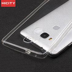 Housse Ultra Fine TPU Souple Transparente T04 pour Huawei Honor X5 Clair