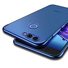 Housse Ultra Fine TPU Souple Transparente T04 pour Huawei Nova 2 Bleu