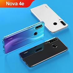 Housse Ultra Fine TPU Souple Transparente T04 pour Huawei Nova 4e Clair