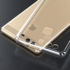 Housse Ultra Fine TPU Souple Transparente T04 pour Huawei P9 Plus Clair