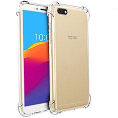 Housse Ultra Fine TPU Souple Transparente T04 pour Huawei Y5 (2018) Clair