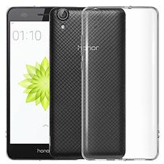Housse Ultra Fine TPU Souple Transparente T04 pour Huawei Y6 II 5.5 Clair