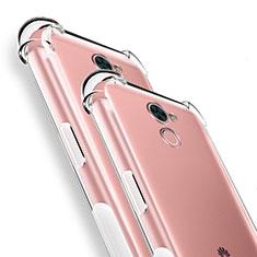 Housse Ultra Fine TPU Souple Transparente T04 pour Huawei Y7 Prime Clair