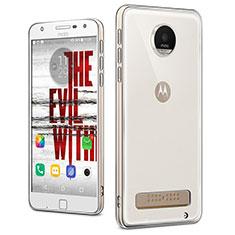 Housse Ultra Fine TPU Souple Transparente T04 pour Motorola Moto Z Play Clair