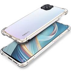 Housse Ultra Fine TPU Souple Transparente T04 pour Oppo A92s 5G Clair