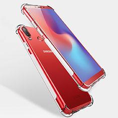 Housse Ultra Fine TPU Souple Transparente T04 pour Samsung Galaxy A6s Clair