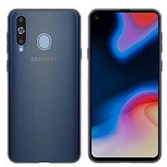 Housse Ultra Fine TPU Souple Transparente T04 pour Samsung Galaxy A8s SM-G8870 Gris