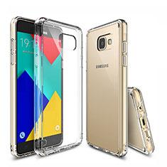 Housse Ultra Fine TPU Souple Transparente T04 pour Samsung Galaxy A9 Pro (2016) SM-A9100 Clair