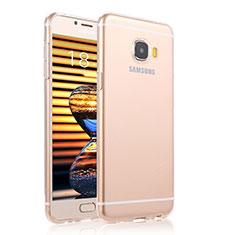 Housse Ultra Fine TPU Souple Transparente T04 pour Samsung Galaxy C7 Pro C7010 Clair