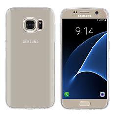 Housse Ultra Fine TPU Souple Transparente T04 pour Samsung Galaxy S7 G930F G930FD Clair