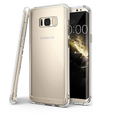 Housse Ultra Fine TPU Souple Transparente T04 pour Samsung Galaxy S8 Plus Clair