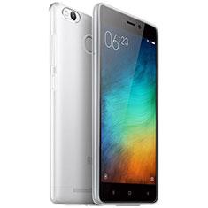 Housse Ultra Fine TPU Souple Transparente T04 pour Xiaomi Redmi 3X Clair