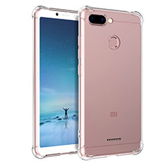 Housse Ultra Fine TPU Souple Transparente T04 pour Xiaomi Redmi 6 Clair