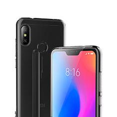 Housse Ultra Fine TPU Souple Transparente T04 pour Xiaomi Redmi 6 Pro Clair