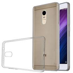 Housse Ultra Fine TPU Souple Transparente T04 pour Xiaomi Redmi Note 4 Standard Edition Gris