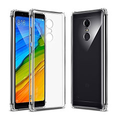 Housse Ultra Fine TPU Souple Transparente T04 pour Xiaomi Redmi Note 5 Indian Version Clair