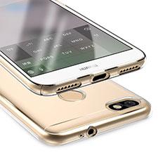 Housse Ultra Fine TPU Souple Transparente T05 pour Huawei Enjoy 7 Clair
