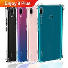 Housse Ultra Fine TPU Souple Transparente T05 pour Huawei Enjoy 9 Plus Clair