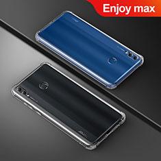 Housse Ultra Fine TPU Souple Transparente T05 pour Huawei Enjoy Max Clair
