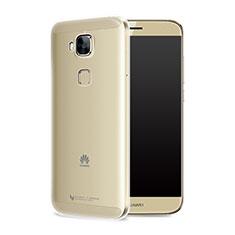 Housse Ultra Fine TPU Souple Transparente T05 pour Huawei G9 Plus Clair
