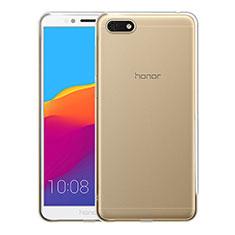 Housse Ultra Fine TPU Souple Transparente T05 pour Huawei Honor 7S Clair
