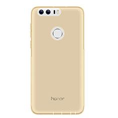 Housse Ultra Fine TPU Souple Transparente T05 pour Huawei Honor 8 Gris