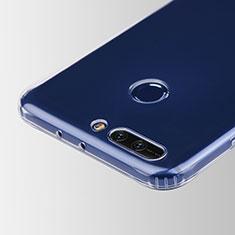 Housse Ultra Fine TPU Souple Transparente T05 pour Huawei Honor V9 Clair