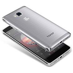 Housse Ultra Fine TPU Souple Transparente T05 pour Huawei Honor X5 Clair