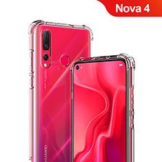 Housse Ultra Fine TPU Souple Transparente T05 pour Huawei Nova 4 Clair